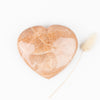 Peach Moonstone Heart #1