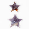 Purple Chalcedony Star
