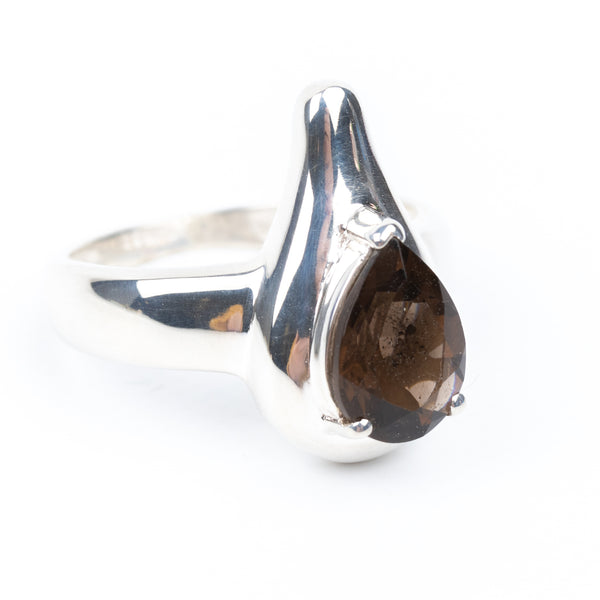 Smoky Quartz Ring Size 7