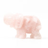 Rose Quartz Elephant - Large