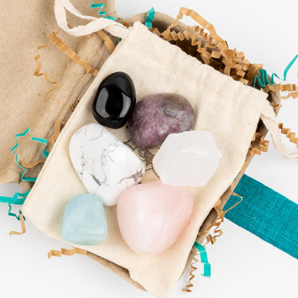 Grief Support Crystal Intention Pouch