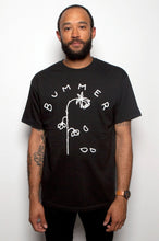 black bummer rose graphic shirt tshirt mnkr garb garb.