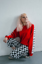 red krappa sweater sydandmallory garb
