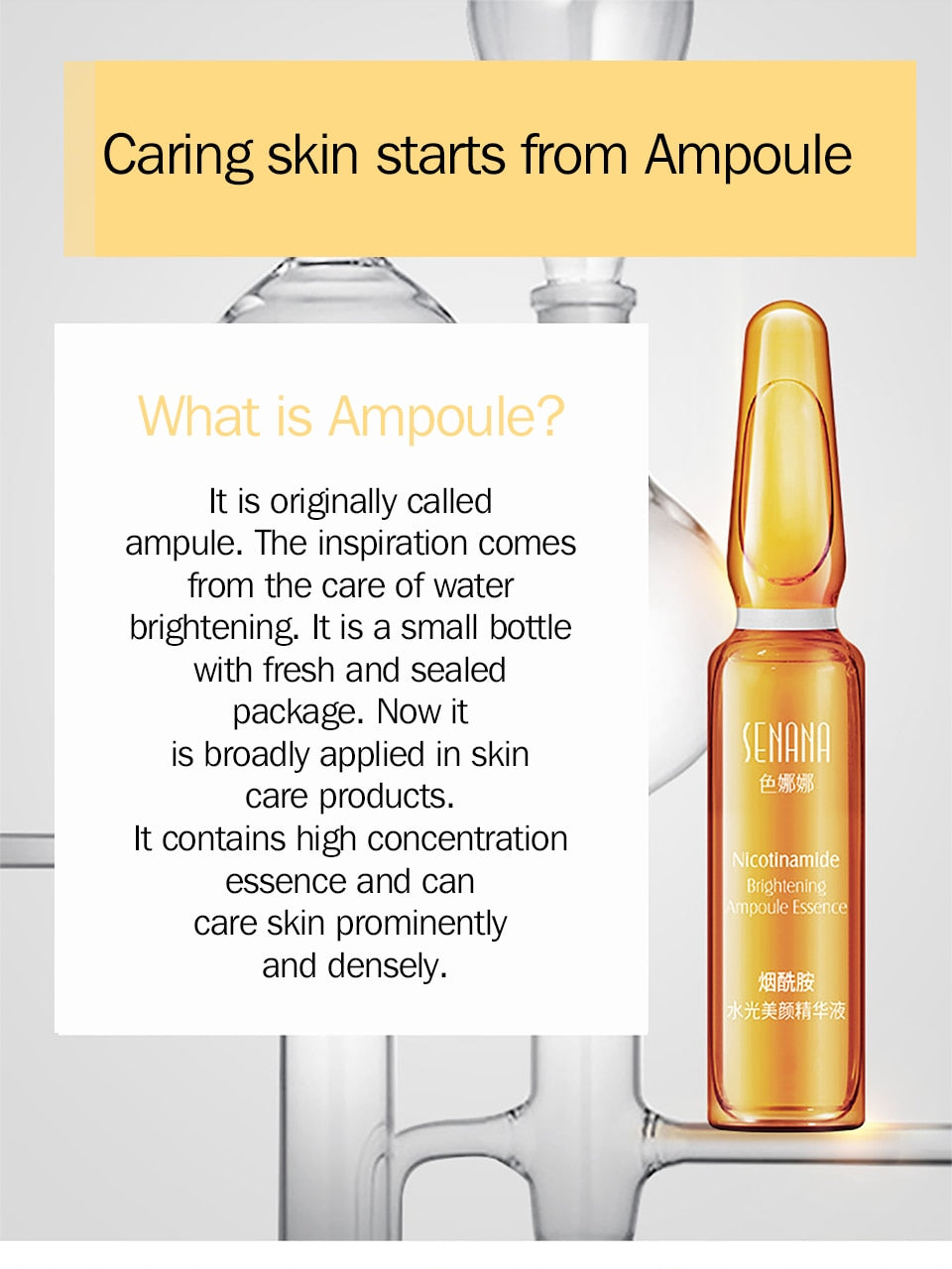 Whitening Spotless Ampoule Serum – Ideal Innova
