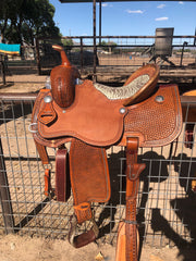 Image of The SAN ANTONIO Barrel Saddle