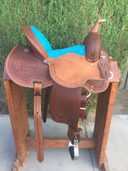 Image of The CLOVIS Barrel Saddle