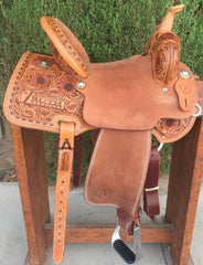 Image of The SUNSHINE Barrel Saddle
