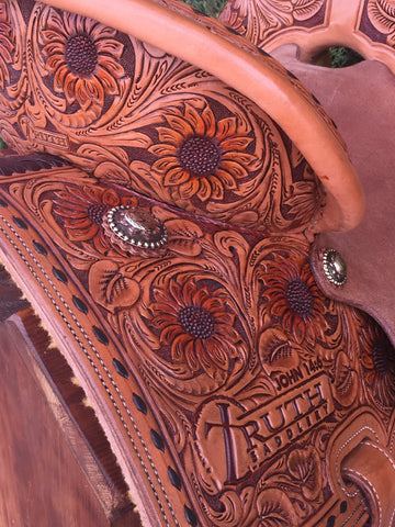 The SUNSHINE Barrel Saddle