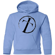 Youth Pullover Hoodie - Circle Cross Logo