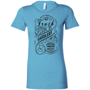 Whiskey label - Ladies Favorite Bella Canvas T-Shirt