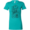 Image of Whiskey label - Ladies Favorite Bella Canvas T-Shirt