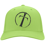 Circle Cross Personalized Twill Cap