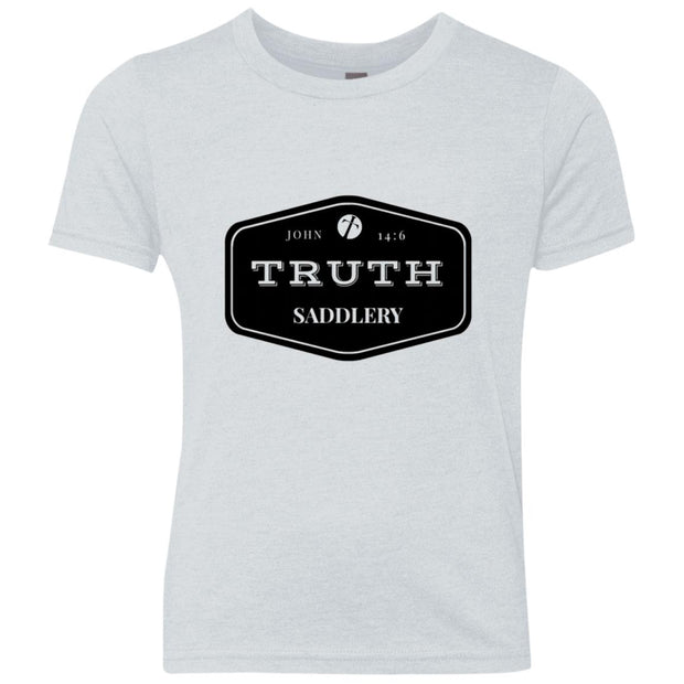 Youth Triblend Crew - Truth Badle Logo