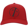Image of Circle Cross Personalized Twill Cap
