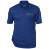 Image of Performance Textured Three-Button Polo