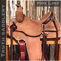 Image of Custom Built PRO LINE Saddle - CHOICE OF TREES - Base Roughout With Fit Kit