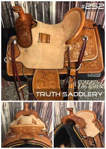#252 #RopeReady Semi Custom Saddle - Quick Turn Around Time