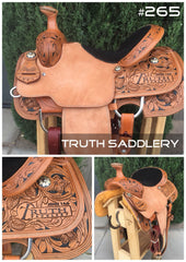 #265 #RopeReady Semi Custom Saddle - Quick Turn Around Time