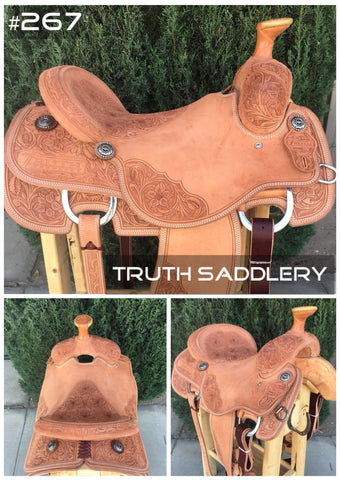 #267 #RopeReady Semi Custom Saddle - Quick Turn Around Time