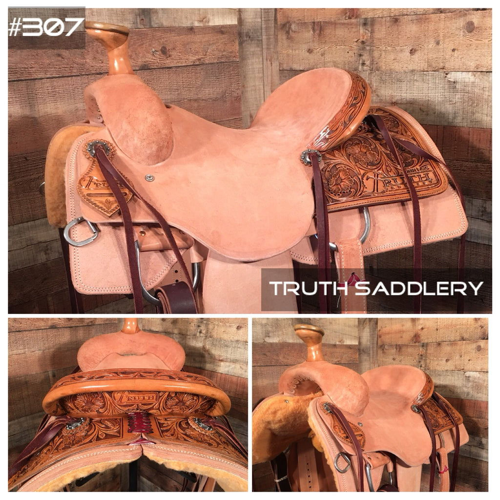 #207 #RanchReady Semi Custom Saddle - Quick Turn Around Time