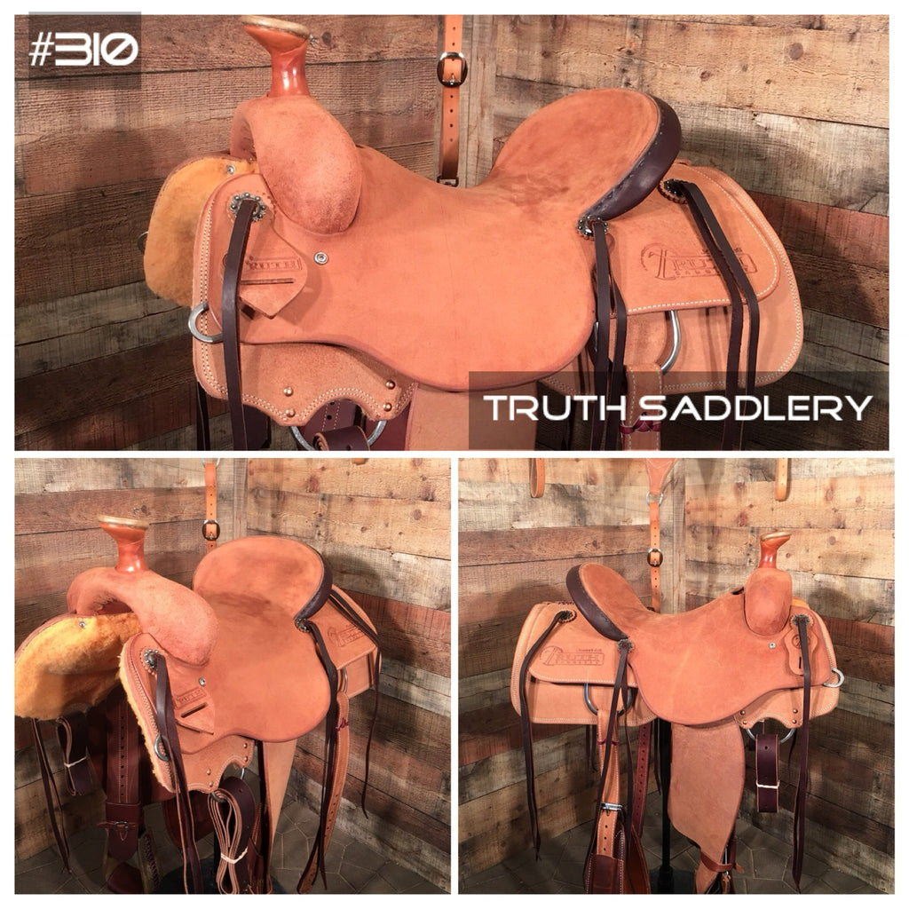 #310 #RopeReady Semi Custom Saddle - Quick Turn Around Time