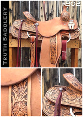 #202 #RodeoReady Semi Custom Saddle - Quick Turn Around Time