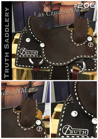 #206 #RopeReady Semi Custom Saddle - Quick Turn Around Time