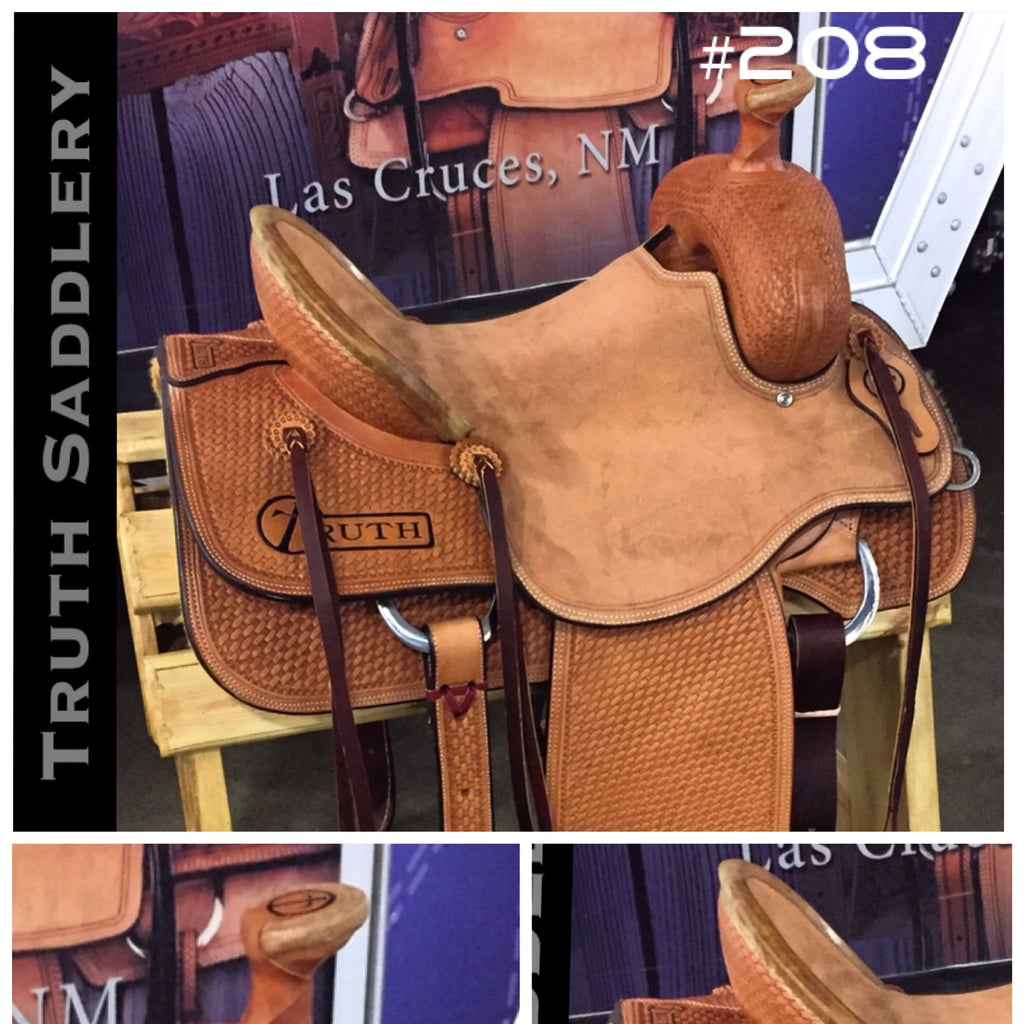 #208 #RanchReady Semi Custom Saddle - Quick Turn Around Time