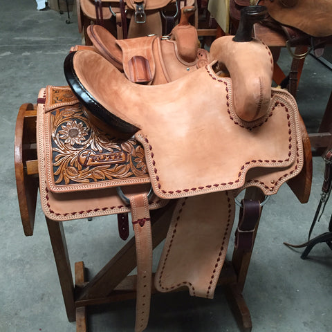 Custom Built PRO LINE Saddle - CHOICE OF TREES - Base Roughout With Fit Kit