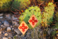New Mexico Zia Earrings