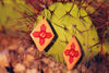 Image of New Mexico Zia Earrings - Free Shipping