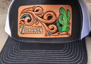 Cactus Leather Patch Cap - Free Shipping