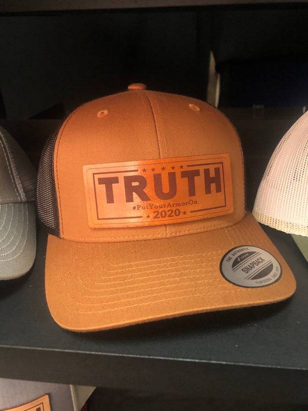 #TRUTH2020 Leather Caps FREE SHIP