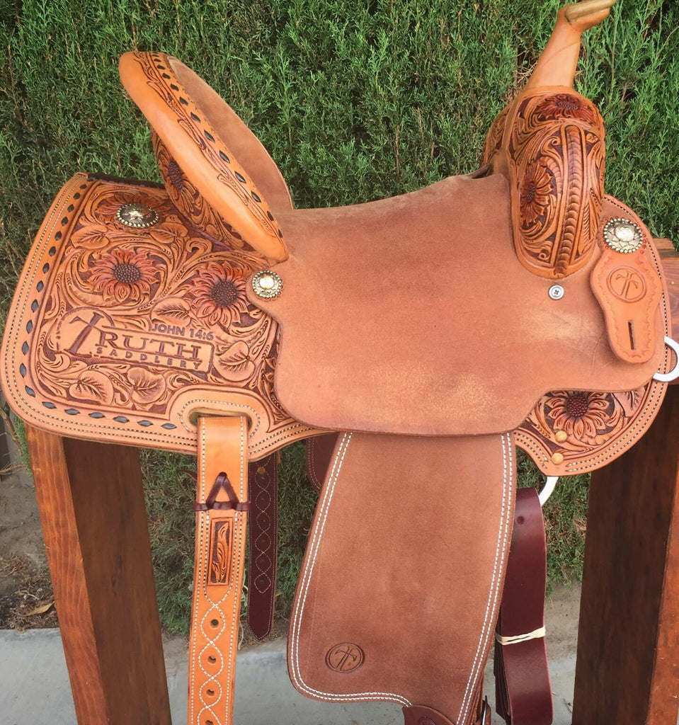 IN STOCK - The SUNSHINE Barrel Saddle