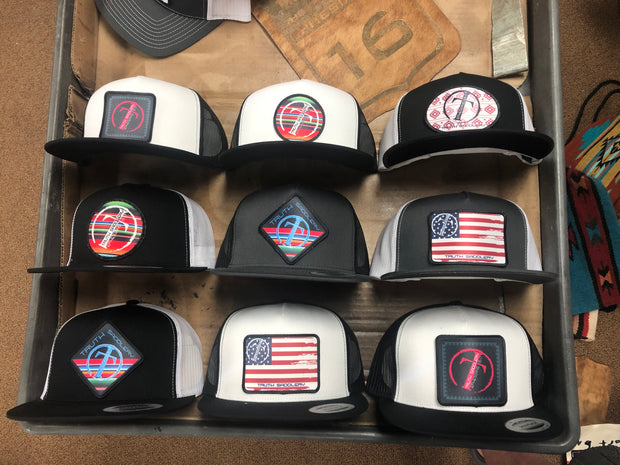 Diamond Patch Trucker caps / hats