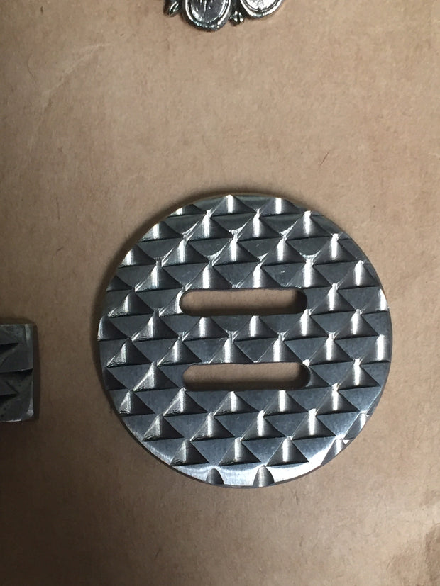 Rasp Slotted Conchos hardware