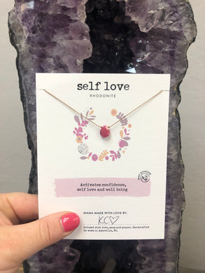 Self Love Gemstone Necklace