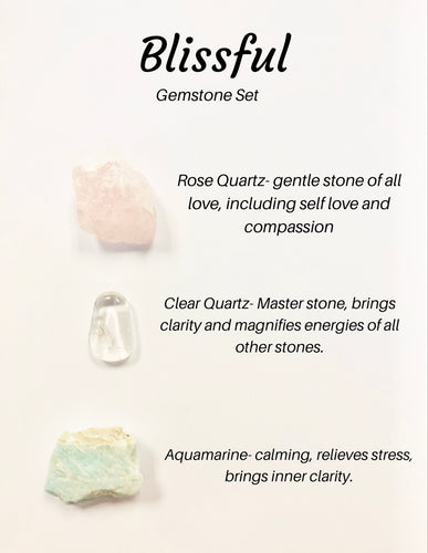 Blissful Gemstone Set