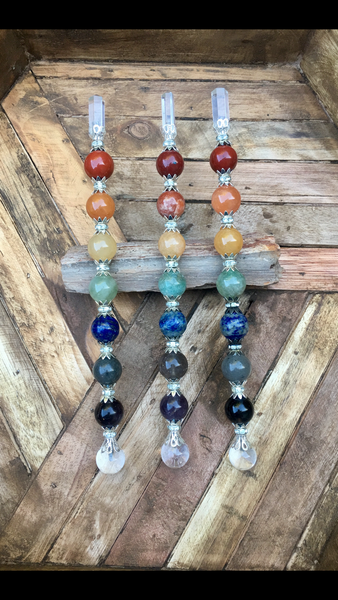 Chakra Wands for Energy Alignment