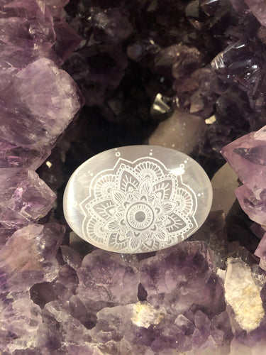 Mandala Selenite