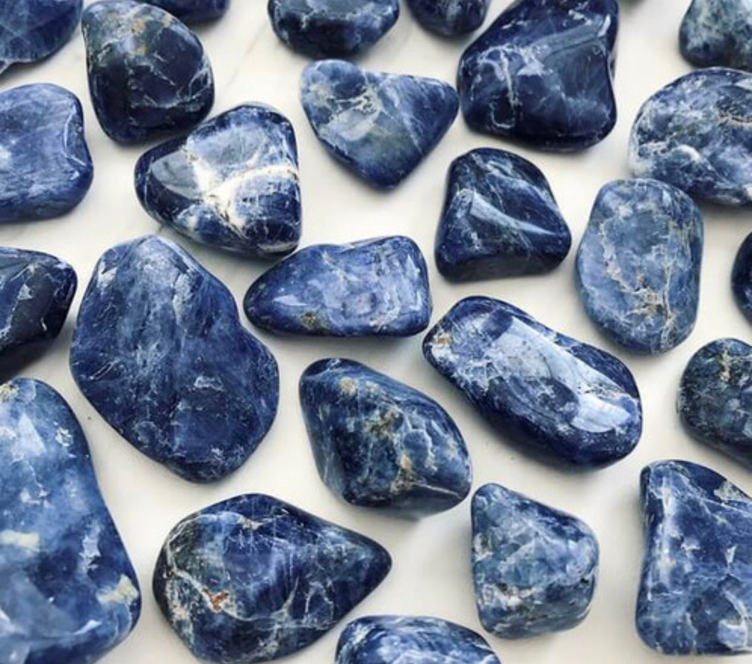 Sodalite for Intuition and Balance