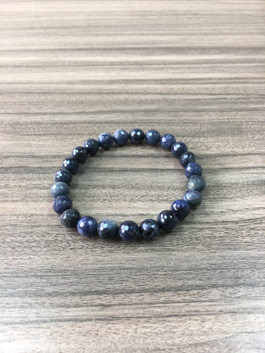 Sodalite Bracelet for Intuition and Harmony