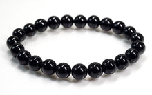 Black Tourmaline Bracelet for Protection and Shielding from Negative Energy