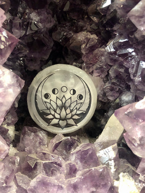 Lotus Moon Selenite
