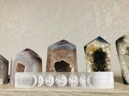 Moon Phases Selenite