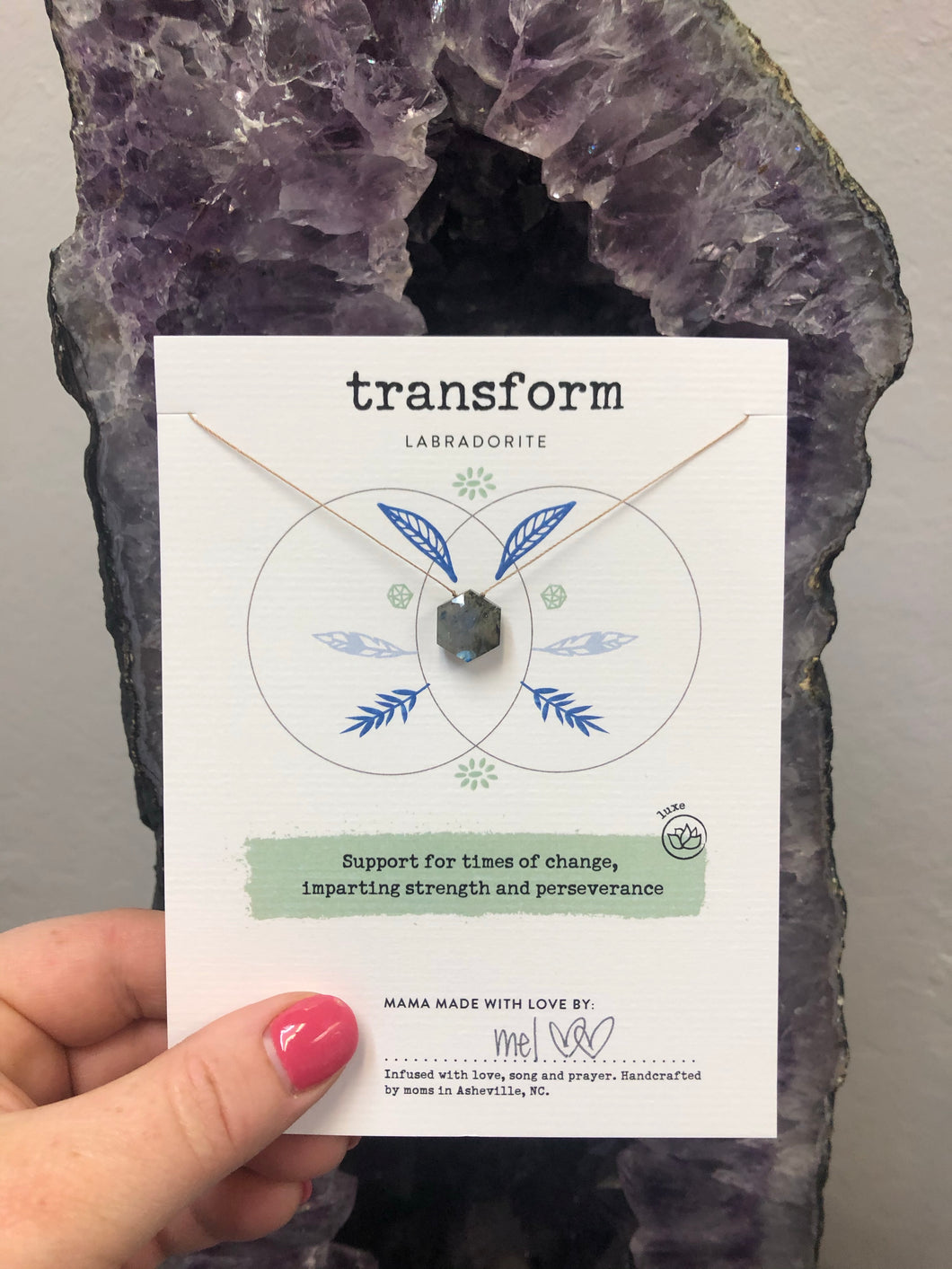 Transform Gemstone Necklace