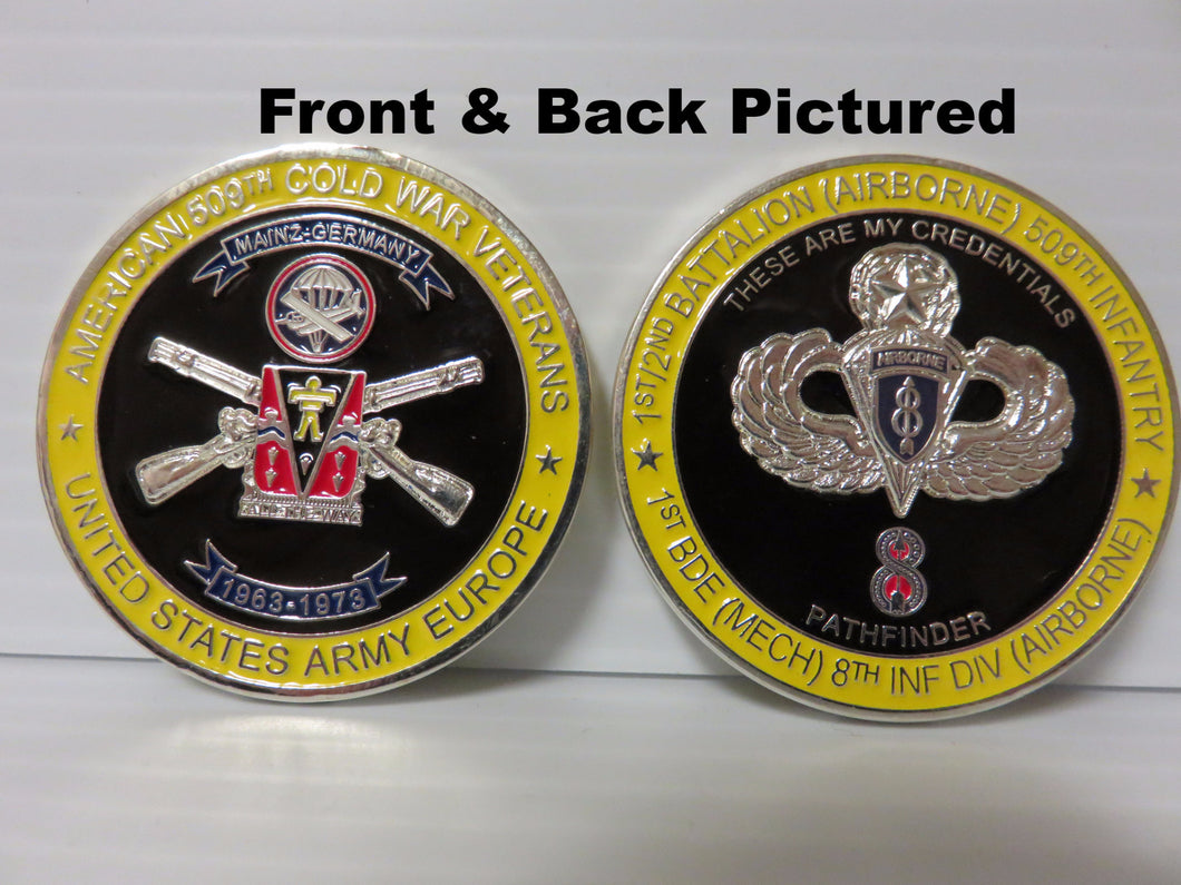 509 8th Inf Div Coin