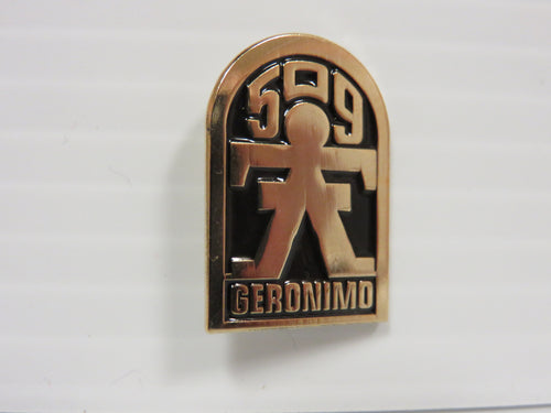 509 G-Man Lapel Pin BRASS