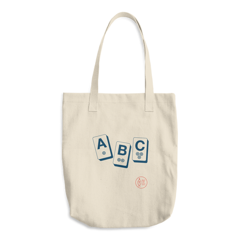 """ABC"" Cotton Tote Bag"