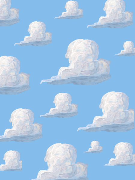toy story cloud illustration fine art